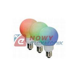 Żarówka LED E27 1W RGB 60mm 20LED VELLEMAN Ø60mm