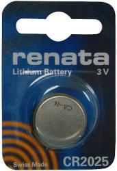 Bateria guzikowa, litowa Renata CR 2025, 3V, 170 mAh