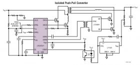 LTC3723 - Synchronous Push-Pull PWM Controllers