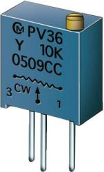 Trymer cermetowy Murata PV 36Y, 300 V/DC