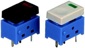 Miniaturowe włączniki dociskowe z podświetleniem LED, 125 V, 1 A