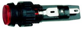 Lampka wskaźnikowa RAFI 1 W T4.6, czerwona