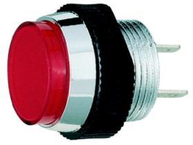 Lampki sygnalizacyjne z diodą LED, zielona, Signal Construc, 12V