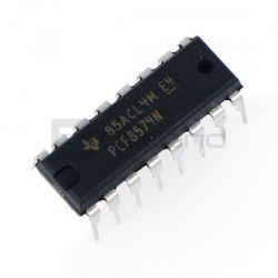 PCF8574N - ekspander wyprowadzeń mikrokontrolera