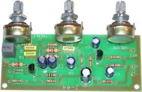 KIT644 Przedwzmacniacz mono z regulacją barwy tonu (Zestaw do montażu) J-44, J-044