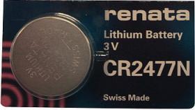 Bateria guzikowa, litowa Renata CR 2477N, 3V, 950 mAh