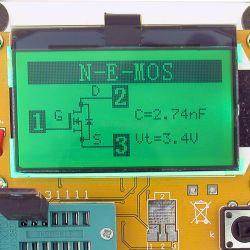 Miernik LCR-T4 - tester tranzystorów, rezystorów, cewek, kondensatorów, diod i innych