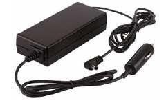 ZSISAM80-19DC2.5K Zasilacz impulsowy do laptopa - samochodowy 19V 3.5A wtyk kątowy