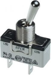 Przełącznik dźwigniowy APEM 639H/2 do wysokiego prądu