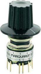 Miniaturowy przełącznik obrotowy Marquardt 9037.0200, 28 V 0,014 A