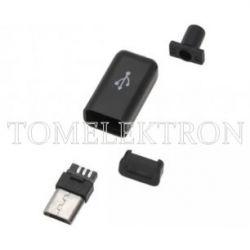 WTYK MICRO USB MONTOWANY NA KABEL