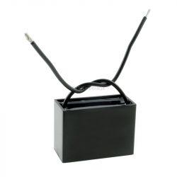 Kondensator rozruchowy do silników 6uF 450Vac przewód CBB61