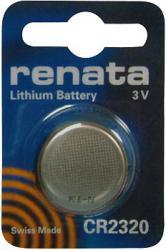 Bateria guzikowa, litowa Renata CR 2320, 3V, 150 mAh