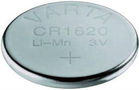 Bateria guzikowa, litowa Varta CR 1620, 3V, 70 mAh