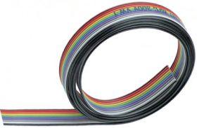 TLWY12x0.35 Tasma wielokolorowa cena za 1 mb - przewód wielożyłowy sklejony w tasmę