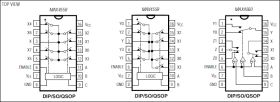 MAX4560 ±15kV ESD-Protected, Low-Voltage, Triple SPDT Switch