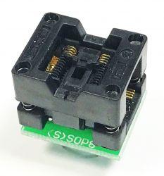 Adapter TSSOP8-->DIL8 ZIF dla pamięci szeregowych i uP