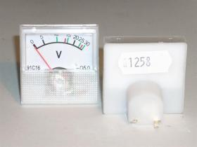 Woltomierz analogowy mini 30V