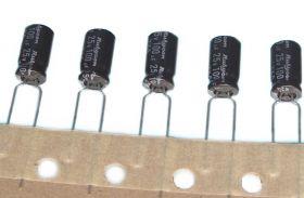 100uF 25V 105'C RUBYCON YXA kondensatory elektrolityczne aluminiowe miniaturowe