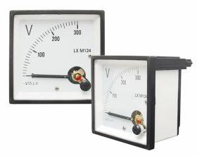 Miernik analogowy woltomierz kwadratowy duży 300V