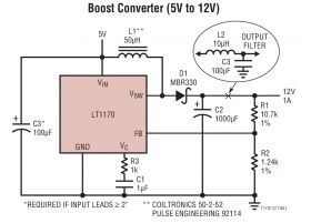 LT1172 - 100kHz, 5A, 2.5A and 1.25A High Efficiency Switching Regulators