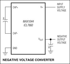 MAX1044 10mA Charge-Pump Voltage Converter