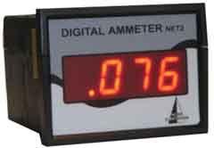 PAN002D Cyfrowy amperomierz tablicowy - zakres pomiarowy 1,999mA (Urządzenie zmontowane) NET02