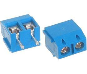 Listwa zaciskowa śrubowa ARK-550/2 raster=3,50mm niebieska