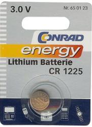 Bateria guzikowa, litowa Conrad Energy CR 1225, 3V, 48 mAh