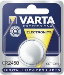 Bateria guzikowa, litowa Varta CR 2450, 3V, 560 mAh