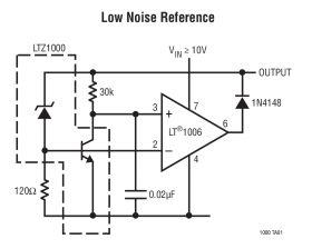 LTZ1000 - Ultra Precision Reference