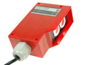 Czujnik; fotoelektryczny; G100-D150AR; przekaźnik; NO/NC; odbiciowy; 2m; 90÷240V; AC; 3A; prostopadłościenny; 36x69mm; z przewod