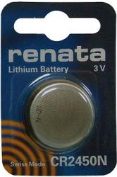 Bateria guzikowa, litowa Renata CR 2450N, 3V, 540 mAh