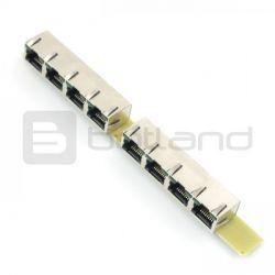 Konwerter I2C/1-Wire 8xRJ45 - MOD-35