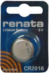 Bateria guzikowa, litowa Renata CR 2016, 3V, 80 mAh