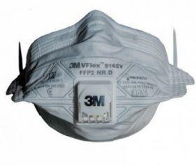 Półmaska filtrująca 3M 9163V VFlex klasa P3 składana, z zaworem