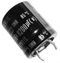 Symbol: 50279 Kon. elektrolityczny 8200uF/16V 22x30 SNAP