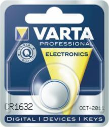 Bateria guzikowa, litowa Varta CR 1632, 3V, 130 mAh
