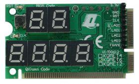 Karta Diagnostyczna P.O.S.T. mini PCI/ mini PCI-E /LPC 6-digit