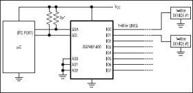 DS2482-800 8-Channel 1-Wire Master