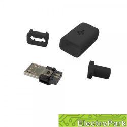 Wtyk USB typ B micro montowany na kabel