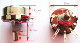 Potencjometr Obr. 470R 2W liniowy