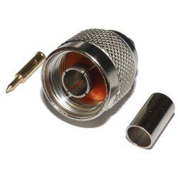 N wtyk zaciskany na kabel H155