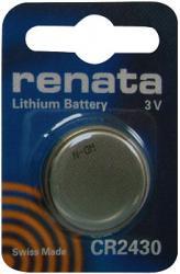 Bateria guzikowa, litowa Renata CR 2430, 3V, 285 mAh