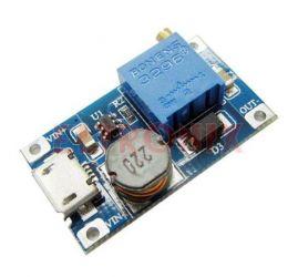 ARD7668 PRZETWORNICA LM2577 2A Z USB-STEP-UP 5-28V