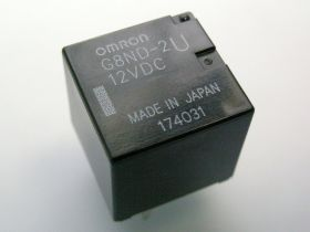 OMRON G8ND-2U (2UK) 12V 25A przekaźnik samochodowy napłytkowy PCB 2x SPDT H-BRIDGE