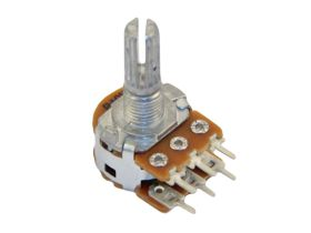 2x100k/B liniowy stereo PCB standard