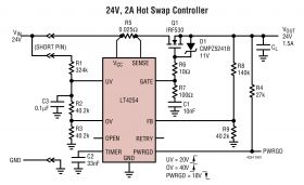 LT4254 - Positive High Voltage Hot Swap Controller with Open-Circuit Detect
