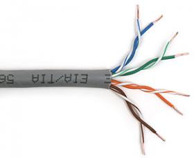Przewód UTP 4X2X0,5 kat 5E