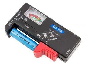 Tester baterii, akumulatorów z LCD